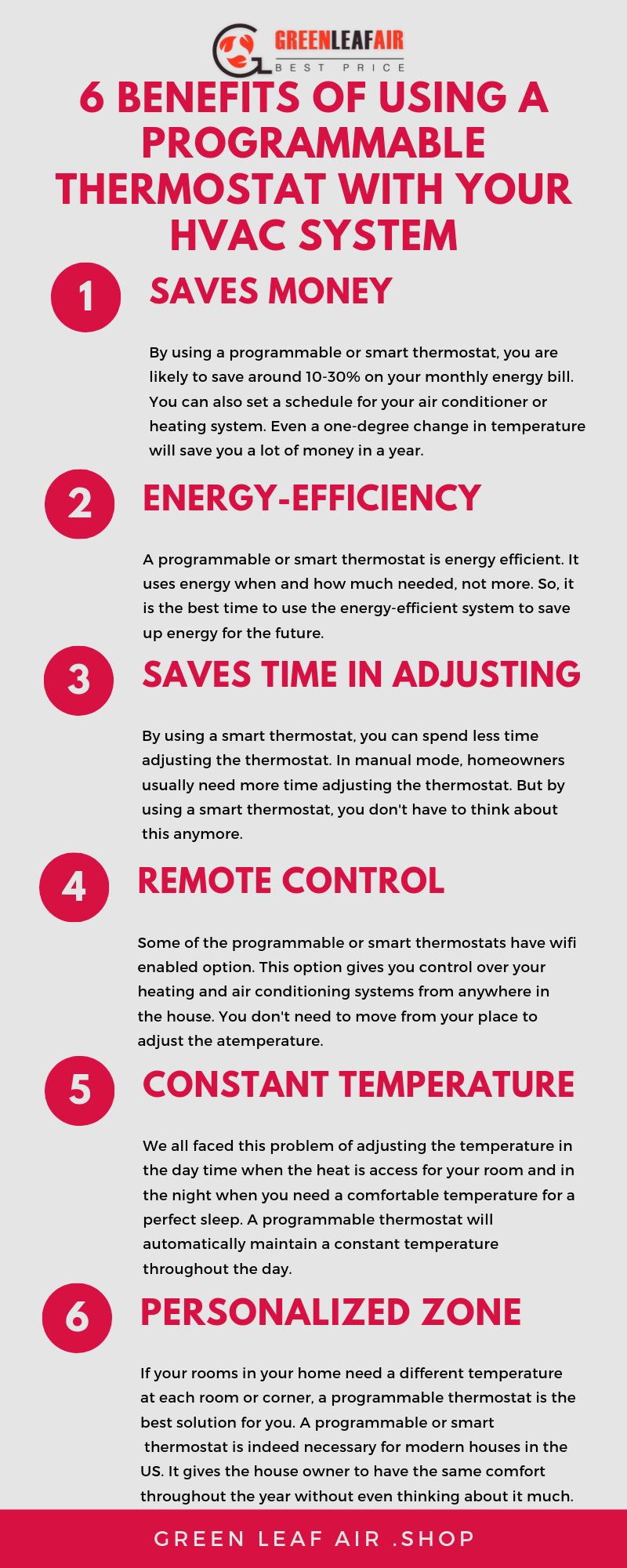6 Benefits of Using a Programmable Thermostat With Your HVAC System
