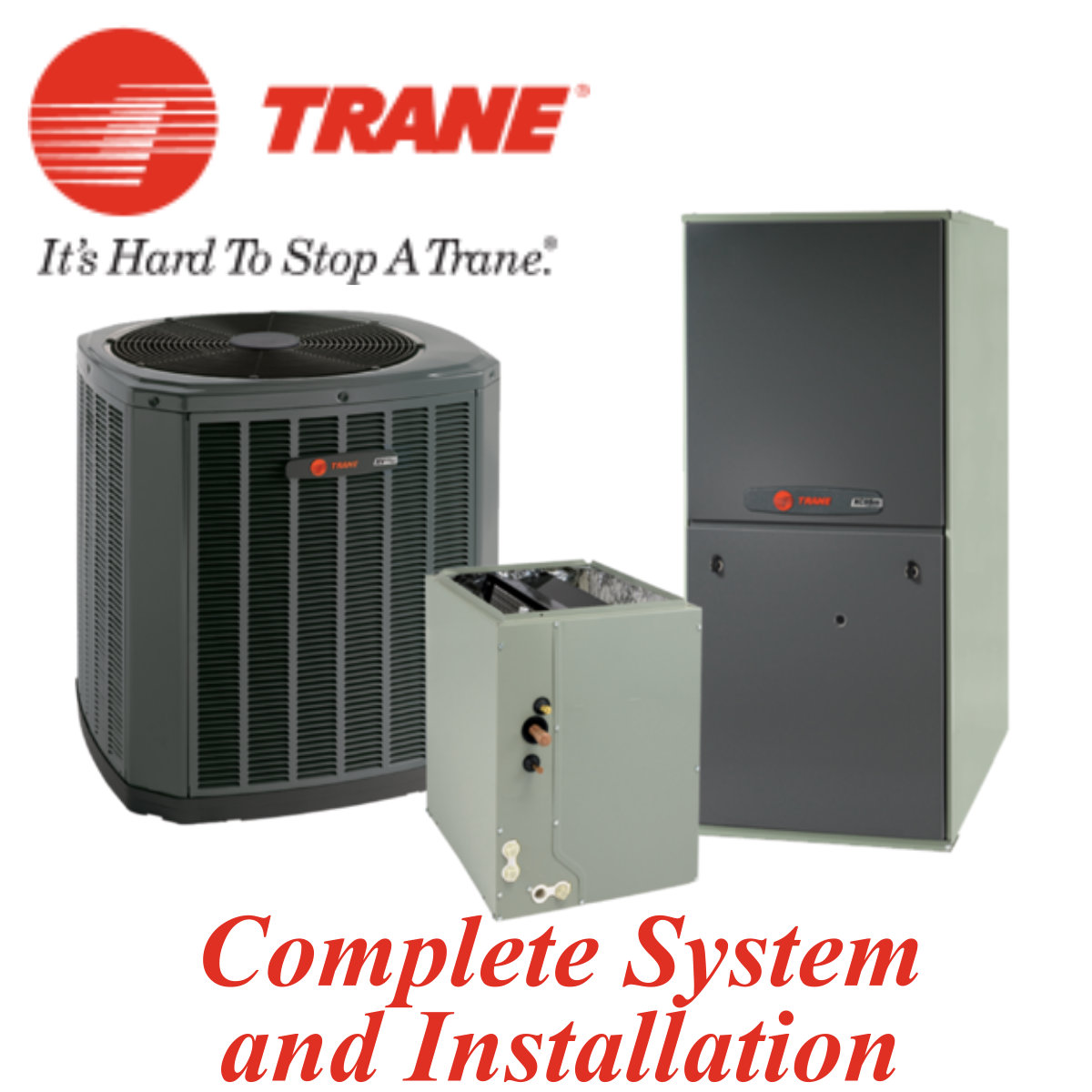 Trane 4 Ton XR 14 SEER System Install Included
