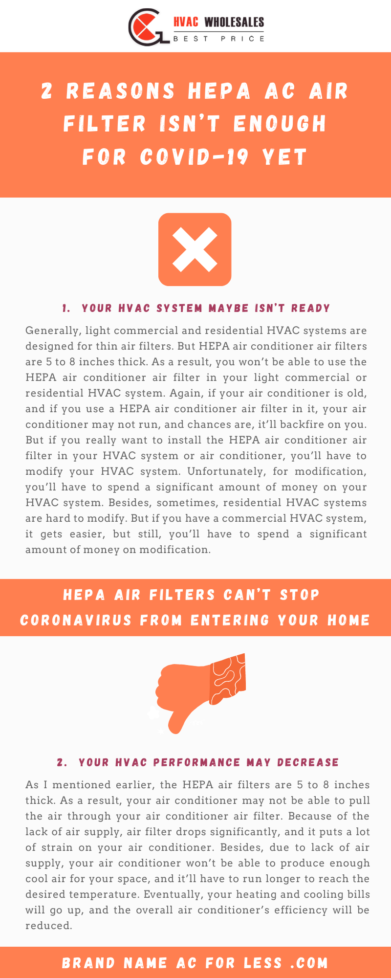 2 Reasons HEPA AC Air Filter Isn't Enough For COVID-19 Yet