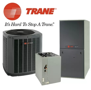 Trane 5 Ton XR17 Seer Two Stage Gas System With Installation