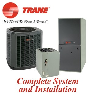 Trane  4 Ton XR17 Seer Two Stage Gas System With Installation